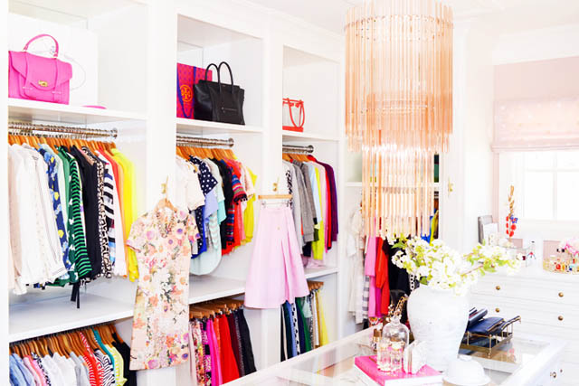 If You Have A Very Small Closet And You Want To Have That Hollywood Style  Glam, Then Try To Put Color In Your Closet. Keep It Color Coordinated, ...